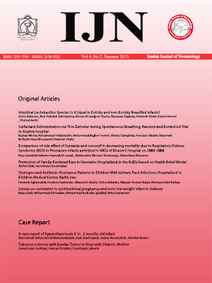 Iranian Journal of Neonatology IJN